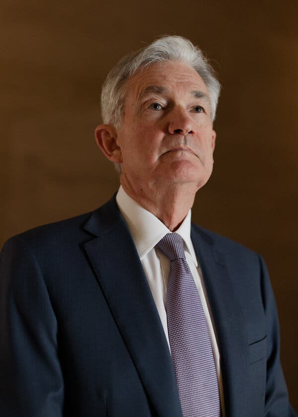 Jerome H. Powell, the Fed chair, avoids endorsing specific legislative packages, but pushed for more congressional spending to shore up the economy last year.